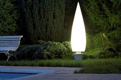 Iluminación para el jardín