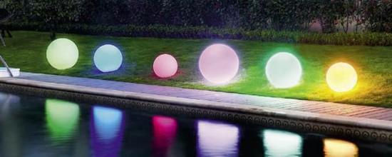 Iluminación para el jardín: las luces led que cambian vidas