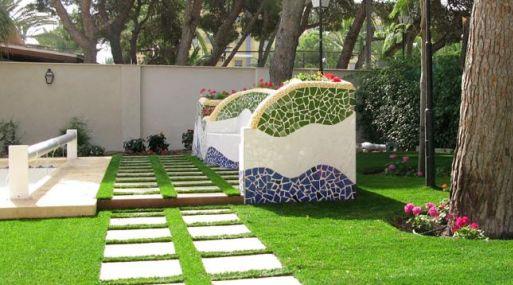 Jardín artificial