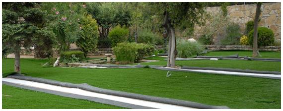 hierba artificial