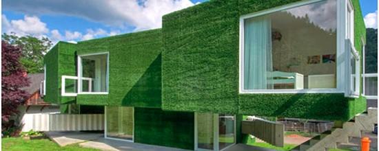 Poner césped artificial en las paredes: más que simple decoración