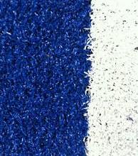 Césped de colores: ¡azul como el mar!