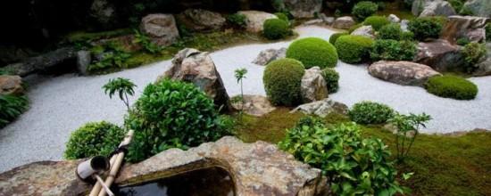 Jardín artificial: la posibilidad de crear un jardín Zen