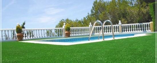 Jardín artificial: opta por el grass sintético