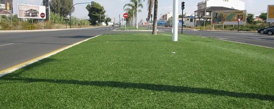Césped artificial y su uso en espacios públicos