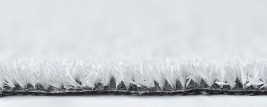 Césped de colores: acantilado blanco